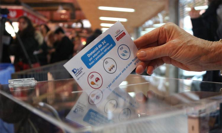 El Gran Recapte d'enguany serà en format de donacions virtuals