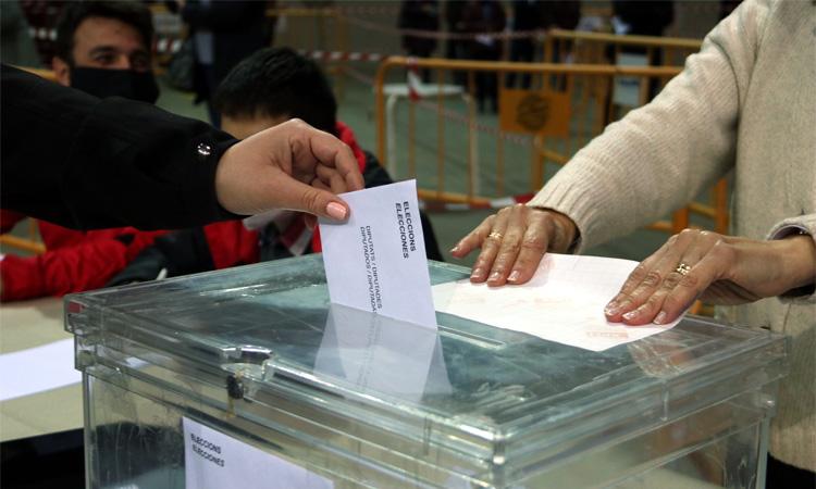 47% de participació a Barcelona a les sis de la tarda