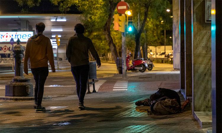 Un problema que no minva: 1.239 persones dormen al carrer