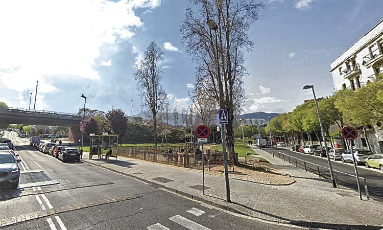 La carpa del mercat d'Horta serà a tocar de l'edifici actual