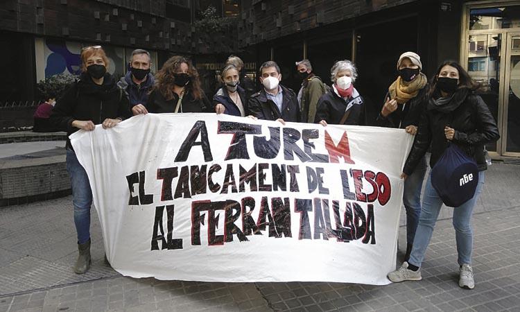 El Ferran Tallada segueix en lluita per mantenir l'ESO