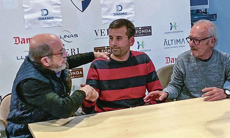 Raúl Matito assumeix la banqueta de la UAHorta