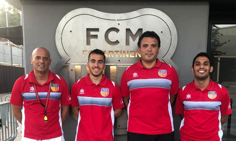 """González (Martinenc): """"Som competitius i estarem a la zona alta a la lliga"""""""