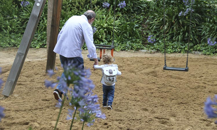 Els més petits ja poden tornar a gaudir dels parcs infantils