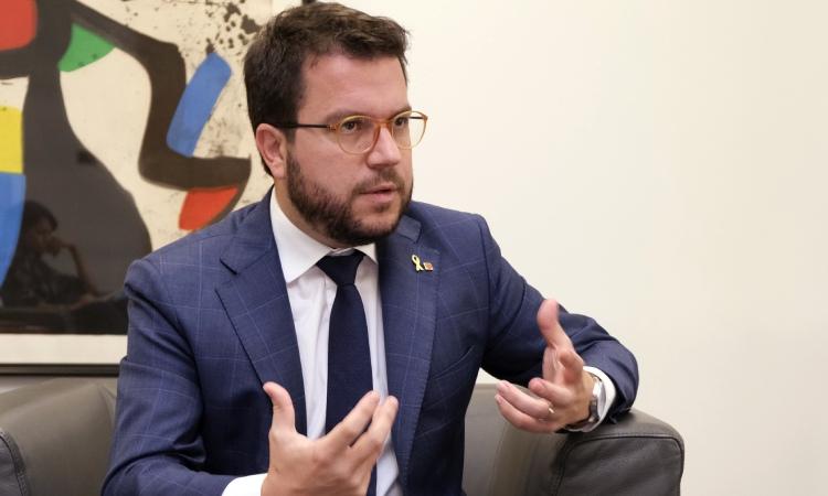 """Pere Aragonès: """"Salvador Illa està inhabilitat per governar un país"""""""