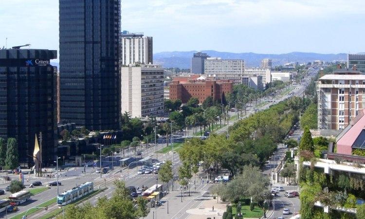 Les Corts torna a ser el lloc de la ciutat amb l'habitatge més car