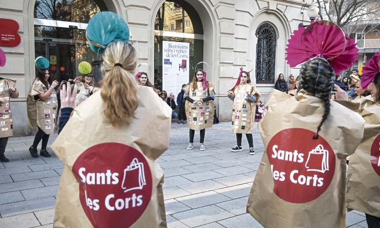 L'Eix Sants-Les Corts també celebra Carnestoltes