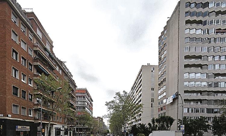 Llogar un pis a les Corts ja costa gairebé 1.200 euros