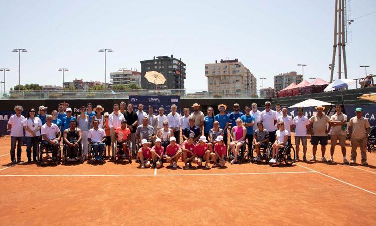 Egberink i Whiley triomfen al torneig de tennis adaptat