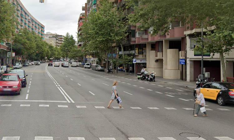 Rebuig a la construcció d'un carril bici a l'avinguda Madrid