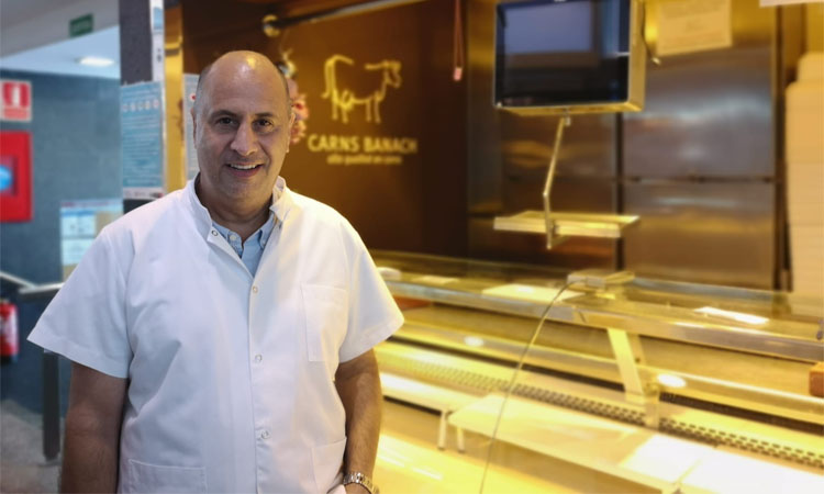Josep Maria Banach: plantar cara al coronavirus des del Mercat de les Corts