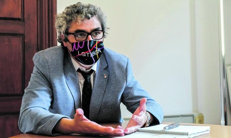 """Joan Ramon Riera: """"A les Corts tenim un paper de solidaritat envers la ciutat"""""""