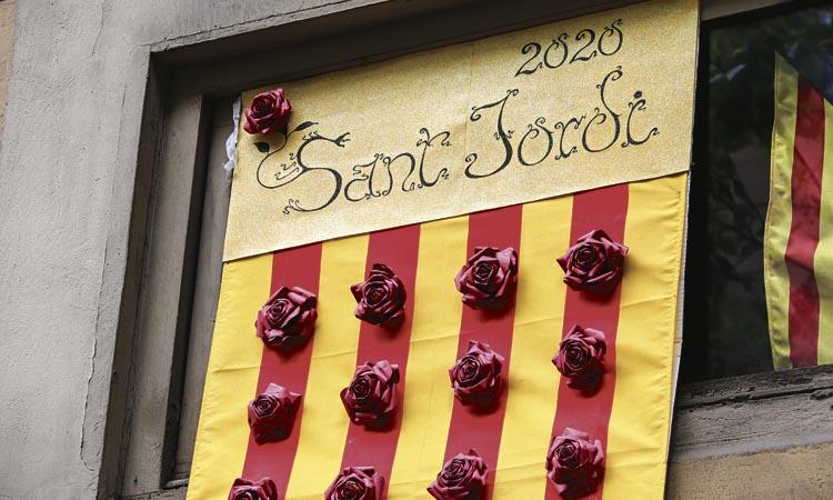 Sant Jordi: permeses les parades davant de les llibreries