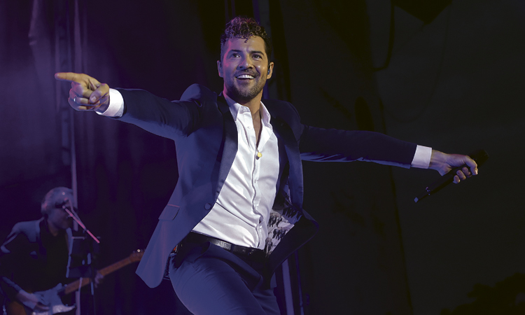 David Bisbal clausura el primer Polo Music Festival