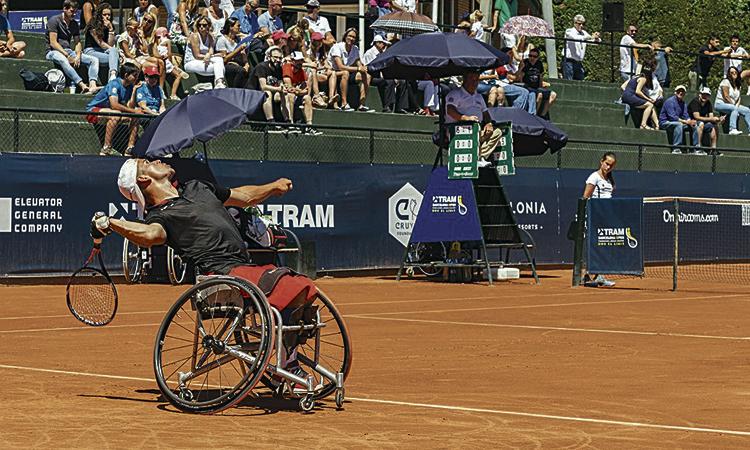 Arrenca la tercera edició del torneig de tennis adaptat