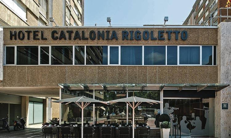 L'hotel Catalonia Rigoletto allotja personal sanitari