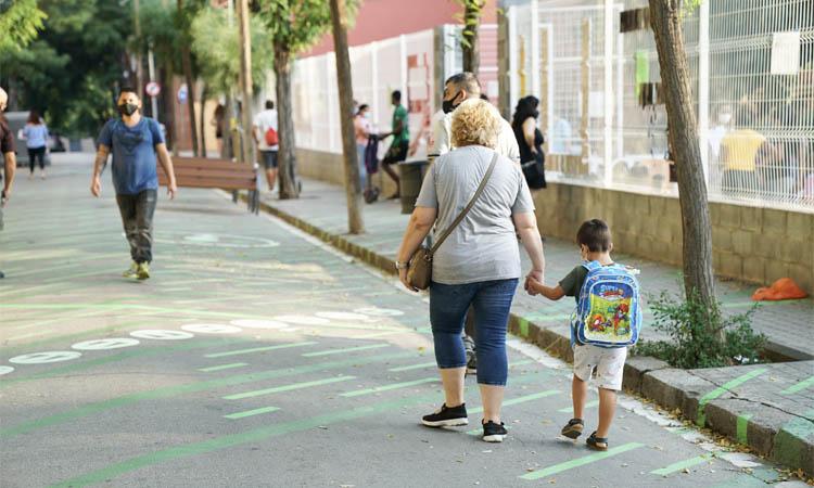 Cinc escoles tindran un entorn més segur i menys contaminat el curs que ve