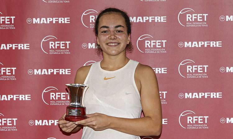 De las Heras, del Laietà, guanya l'estatal de tennis júnior
