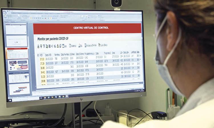 Les Corts és el districte amb menys positius per coronavirus