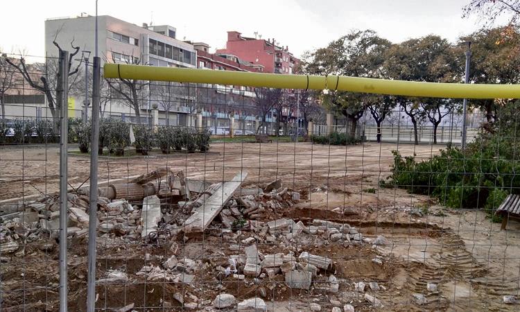 Creen una plataforma per conservar el parc de l'Alhambra