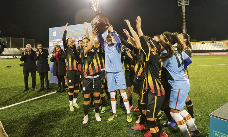 La Feixa Llarga gaudeix amb el triomf de la selecció contra Xile