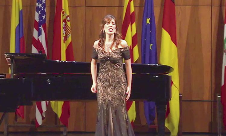 La soprano Laura del Río triomfa al 'Tenor Viñas'