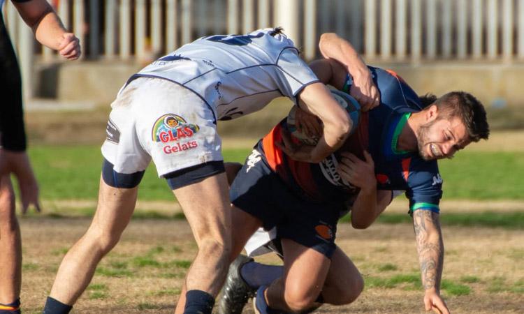 El Rugby Club l'Hospitalet serà al top 6 de la lliga si guanya a Alacant