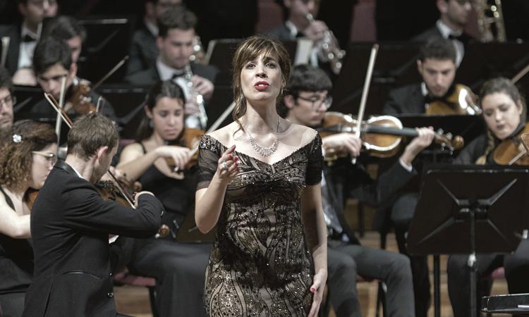 El talent de la soprano Laura del Río traspassa fronteres