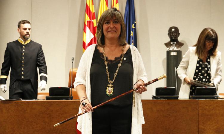 Núria Marín és escollida presidenta de la Diputació