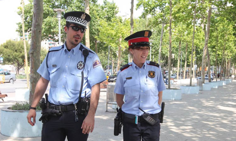 Patrulles de Mossos i Guàrdia Urbana a l