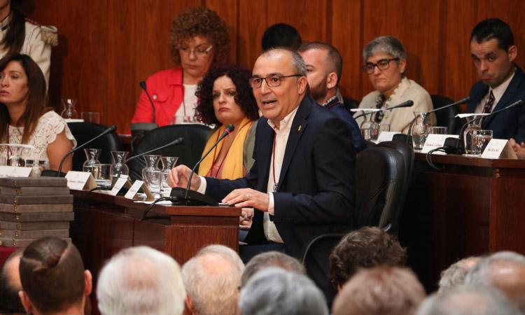 """Antoni Garcia, portaveu ERC L'H: """"La pinça PSC-Cs està traient el contingut a la comissió"""""""