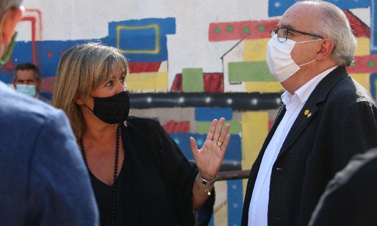 Trobada entre Marín i Bargalló pel tancament de l'Acadèmia Cultura