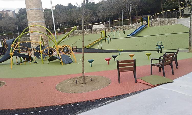 Reclamen que els parcs infantils siguin més accessibles i inclusius