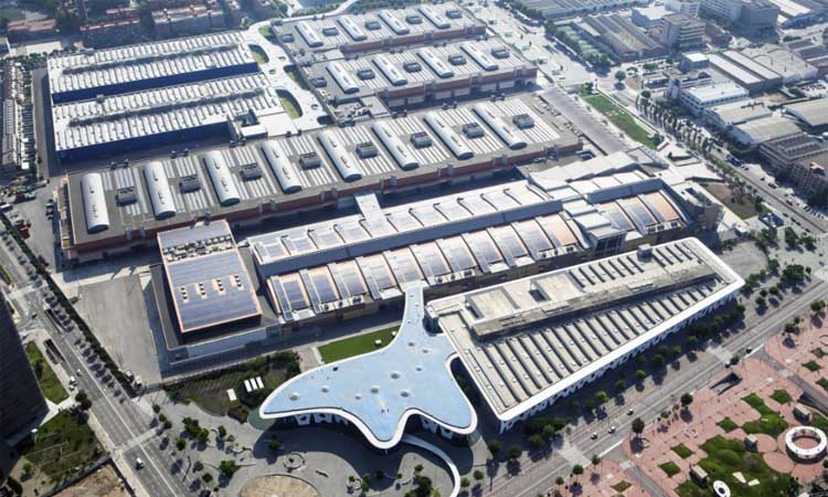 El recinte de Fira de Barcelona de Gran Via acull un hospital amb 300 llits