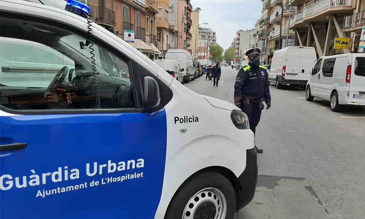 La Guàrdia Urbana posa més de 800 multes des de l'inici de l'estat d'alarma