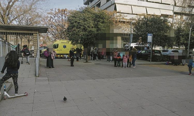 L'atropellament d'un nen mostra les mancances en mobilitat