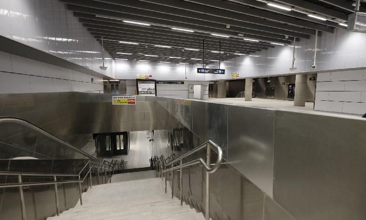L'Hospitalet estrenarà la vintena parada de metro al juliol
