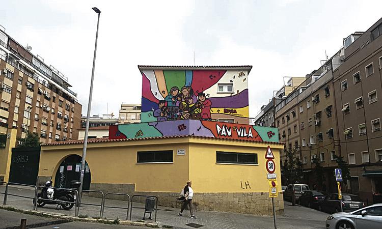 Els alumnes de l'Escola Pau Vila demanen un barri més net