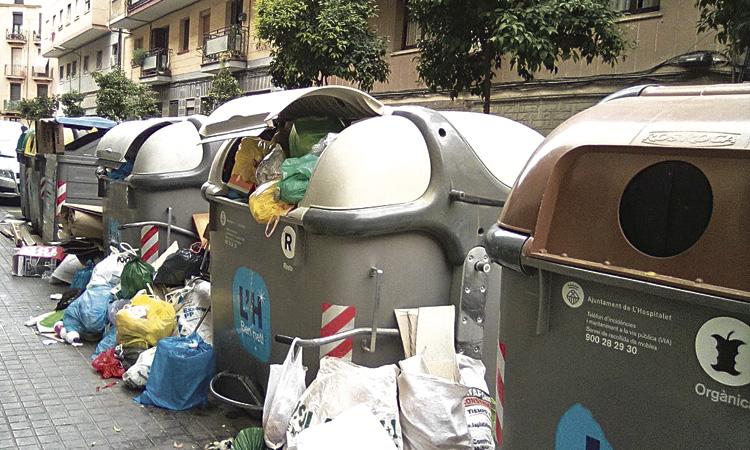 Els ciutadans només reciclen un 24% de les escombraries