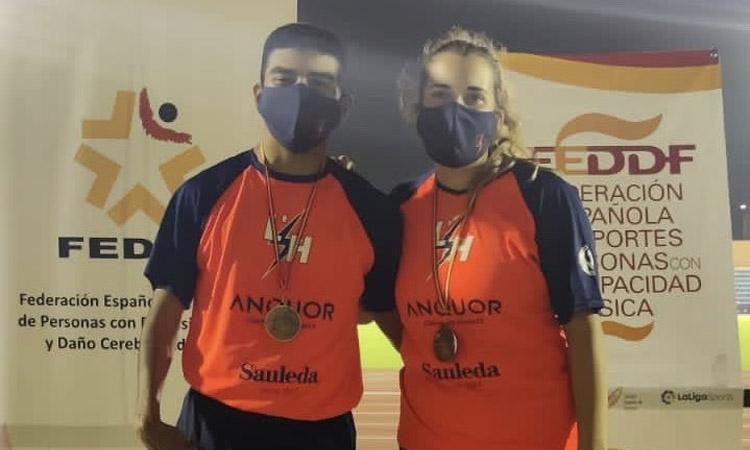 L'Hospitalet Atletisme brilla a l'estatal de San Fernando