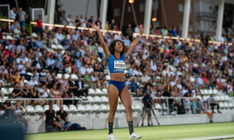María Vicente, campiona estatal d'heptatló absolut