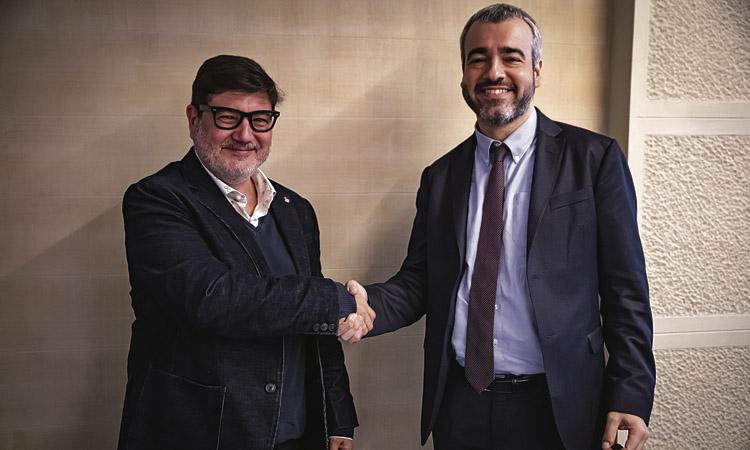 L'alcalde Mijoler es reuneix amb el president d'AENA