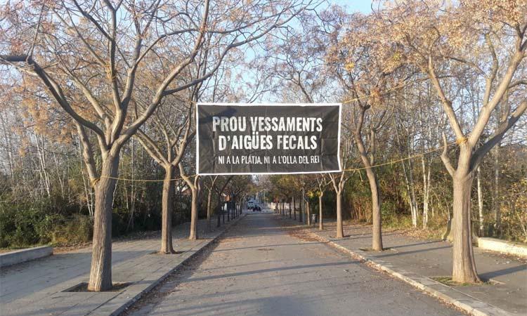 Castelldefels no presenta la platja de la Pineda a la Bandera Blava pels vessaments