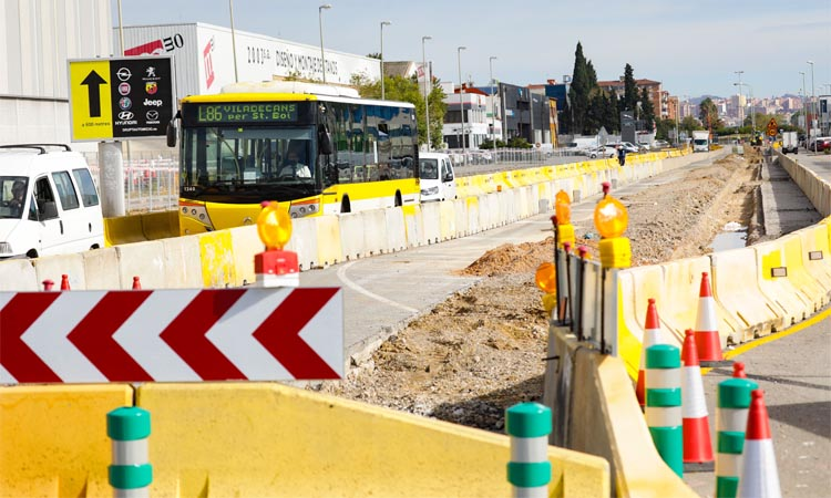 Arrenca una nova fase de la reforma de la carretera C-245