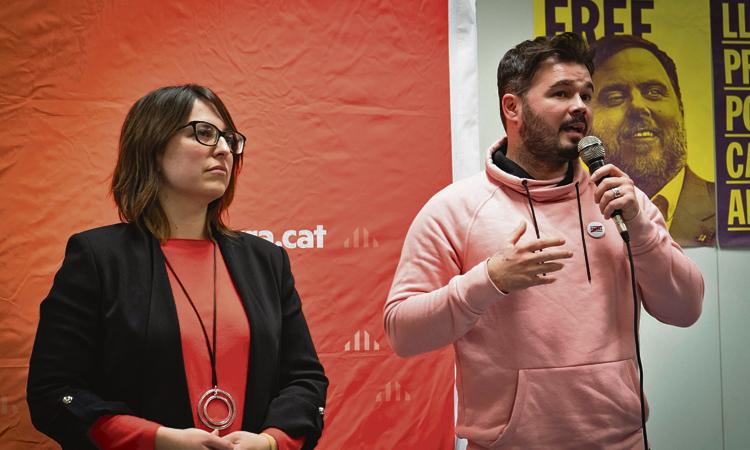 Rufián anima ERC a sortir a guanyar a les municipals