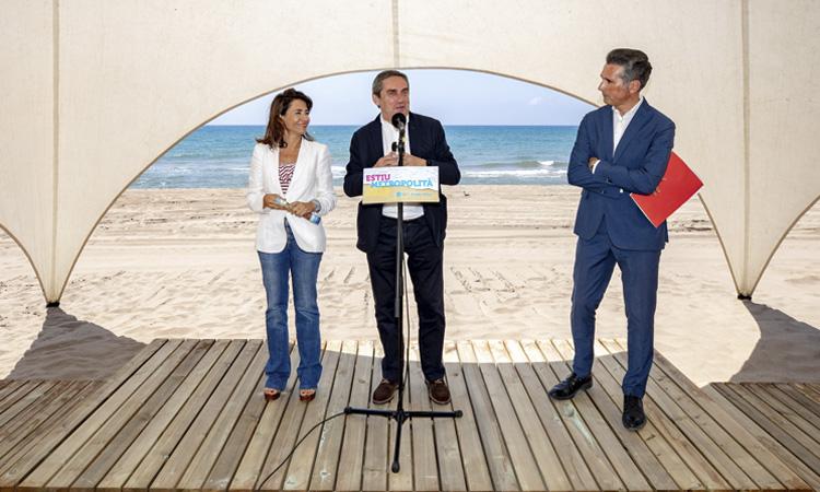 En marxa la temporada d'estiu a les platges metropolitanes amb la preservació com a objectiu