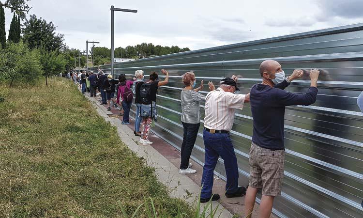 Nova protesta ciutadana a Gavà contra el Pla de Ponent