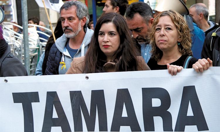 El cas de Tamara Carrasco es jutjarà a Barcelona