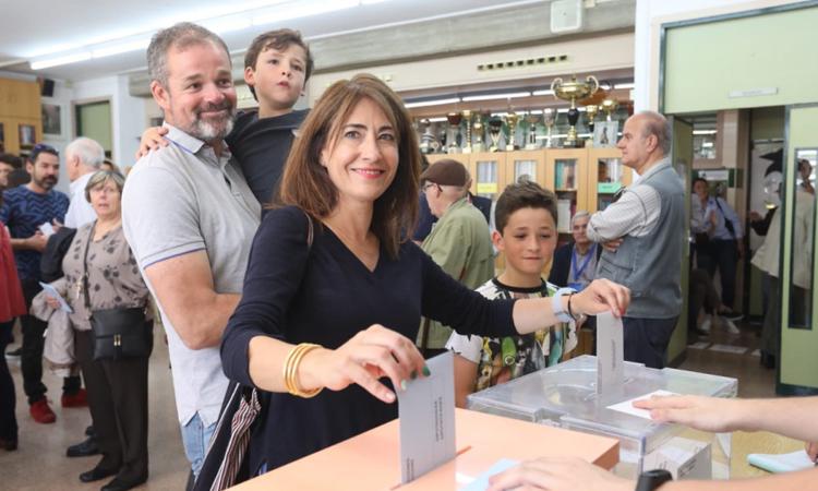 Raquel Sánchez recupera la majoria absoluta del PSC a Gavà