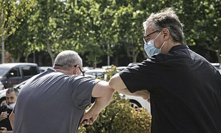 El coronavirus ha entrat a una de cada deu llars de Castelldefels